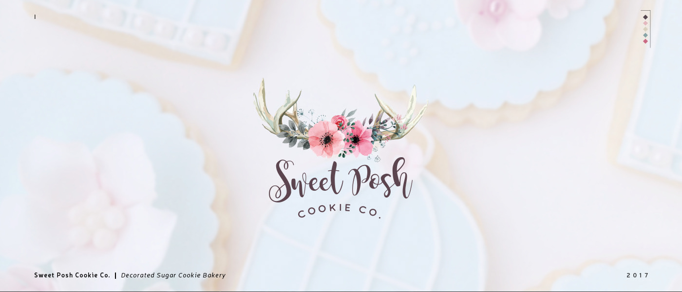 Sweet Posh Cookie Company logo