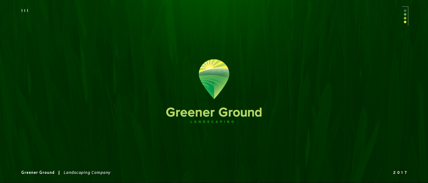 Greener Ground Landscaping logo